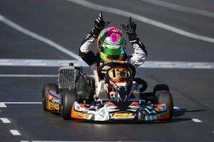 Horatio Fitz-Simon overcame troubles on Saturday to score the win in Mini Max Sunday (Photo: Sean Buur - Go Racing Magazine)