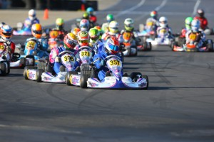 Phillip Arscott swept the final day of action to earn the Senior Max championship (Photo: Sean Buur - Go Racing Magazine)