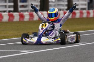 Michael d'Orlando earned his first career national level victory in the TaG Cadet finale (Photo: dorlandoracing.com)