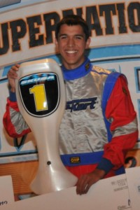 Phil DeLaO will carry the TaG Senior no. 1 plate on an Arrow machine this season (Photo: On Track Promotions - otp.ca)