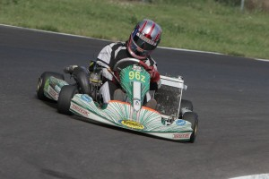 Dalton Egger was one of three brothers to win in the SKUSA shifterkart categories on the weekend (Photo: Ken Johnson - Studio52.us)
