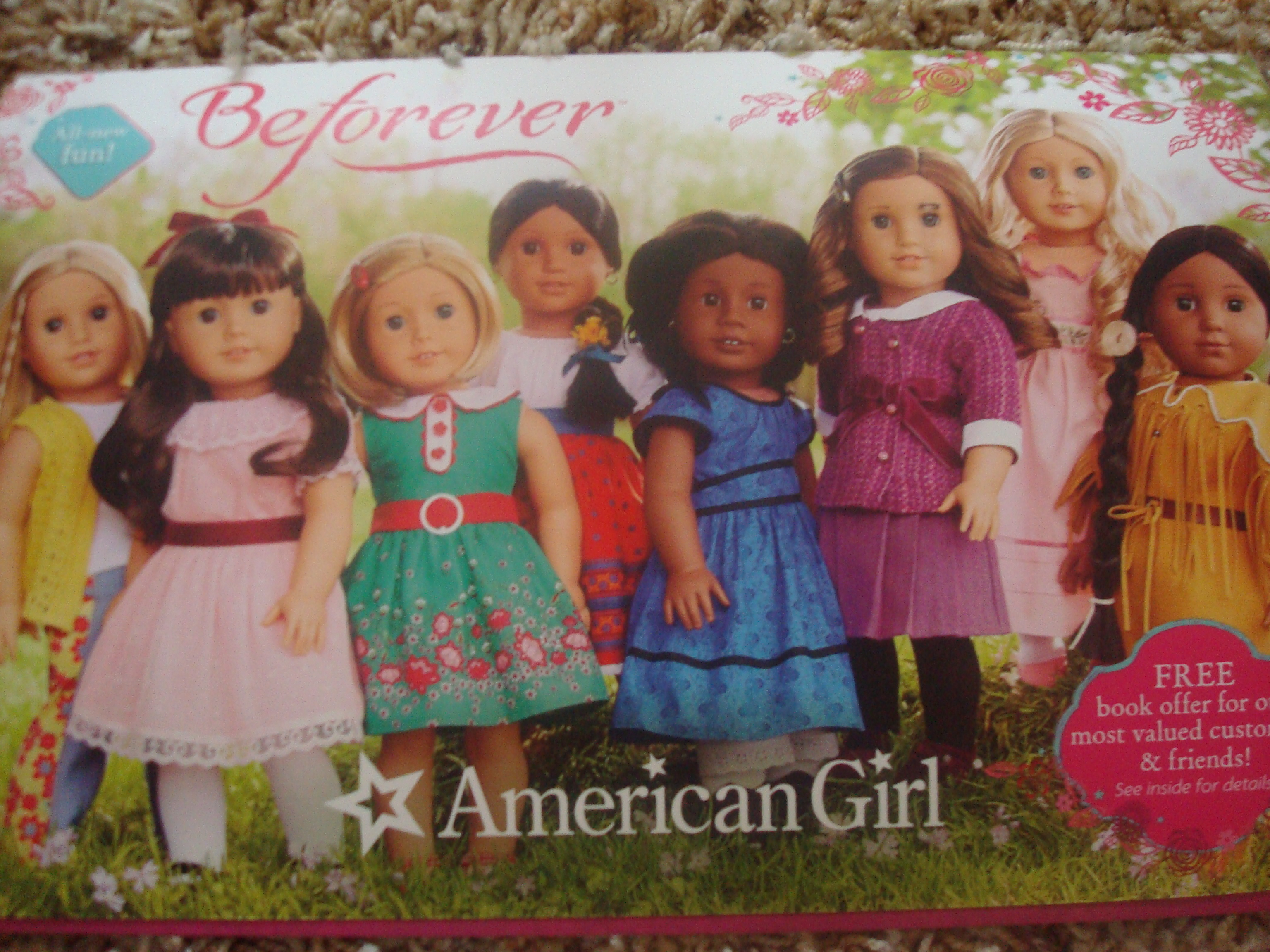 Brand New American Girl Samantha/'s BeForever Meet DRESS ONLY Outfit So So Pretty