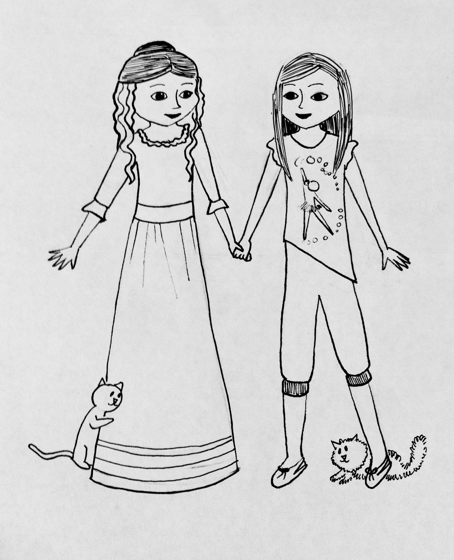 More American Girl Coloring Pages Small Dolls In A Big World American Julie Coloring Pages