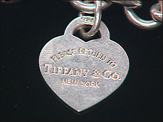 Real Tiffany Co pendant