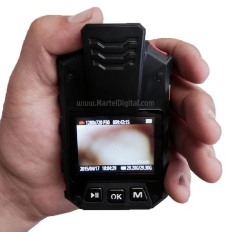 Stealth body camera mode