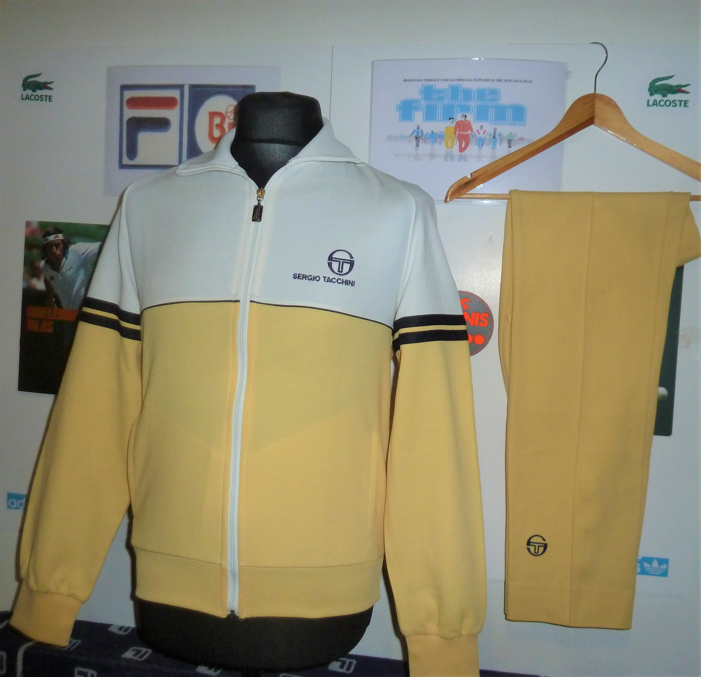 sergio tacchinini sportswear, 80s sportswear