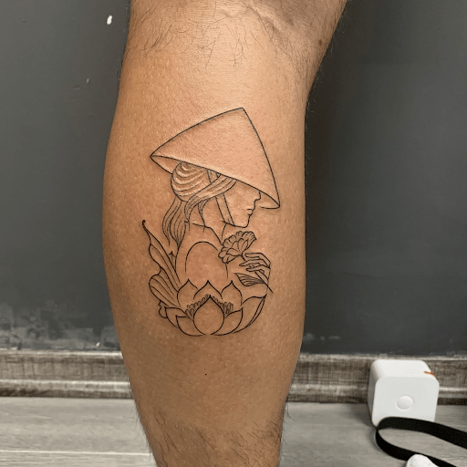 Small and cute Vietnamese tattoo ideas for girls
