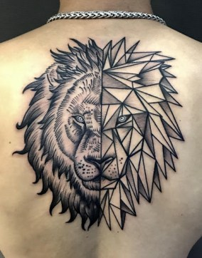Most graceful lion tattoo design: king of the society