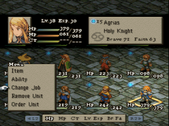 Final Fantasy Tactics NTSC U ISO