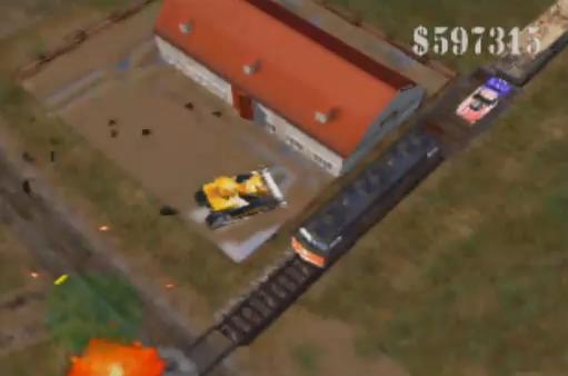Image result for Blast Corps screenshot