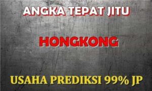Prediksi Hongkong 07 Juni