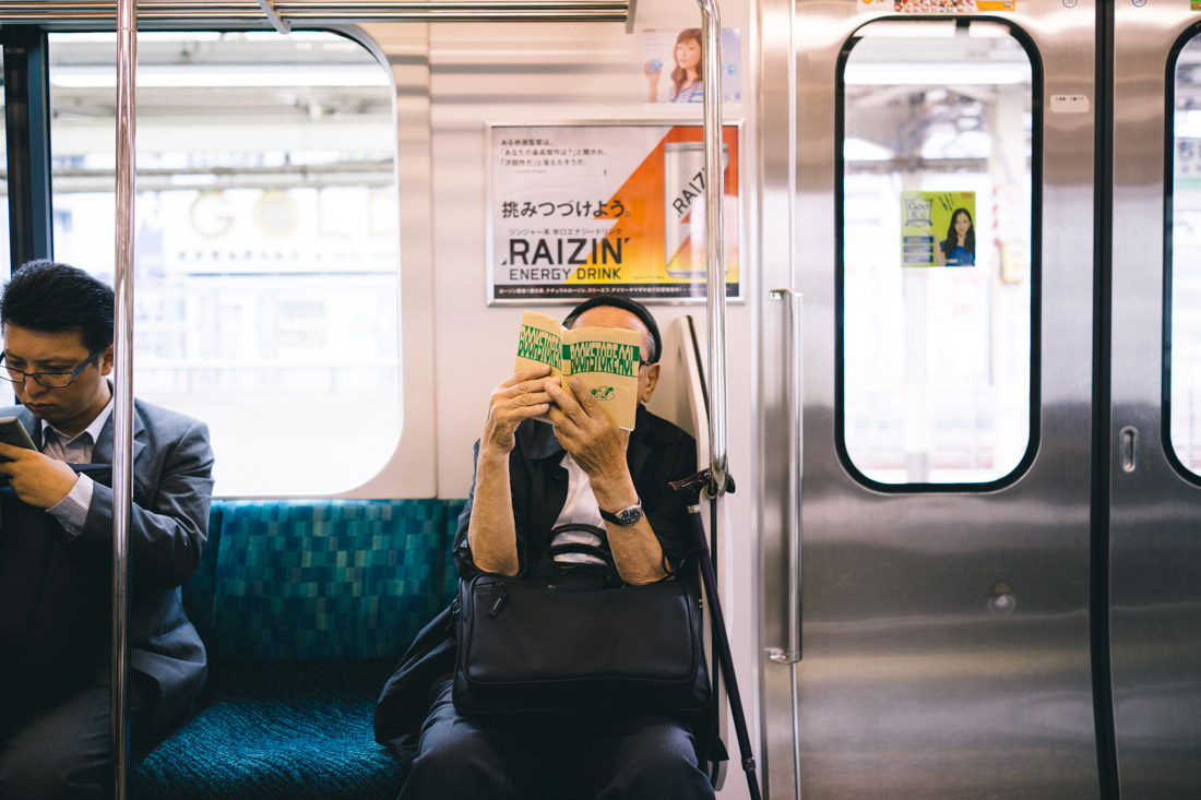People's daily routine consists of spending hours sitting on a train.