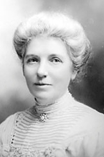 Kate Sheppard, Leading Suffragette in New Zealand, b. 1847