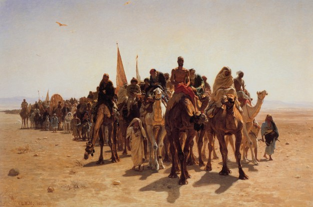 Leon-Belly-Pilgrims-Going-To-Mecca, 1861
