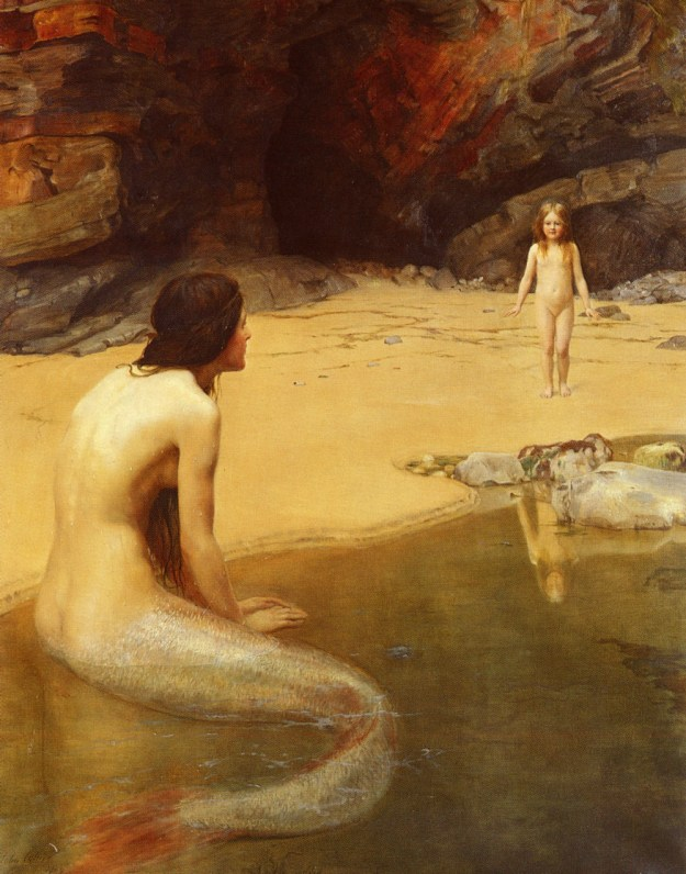 John_Collier_-_The_Land_Baby