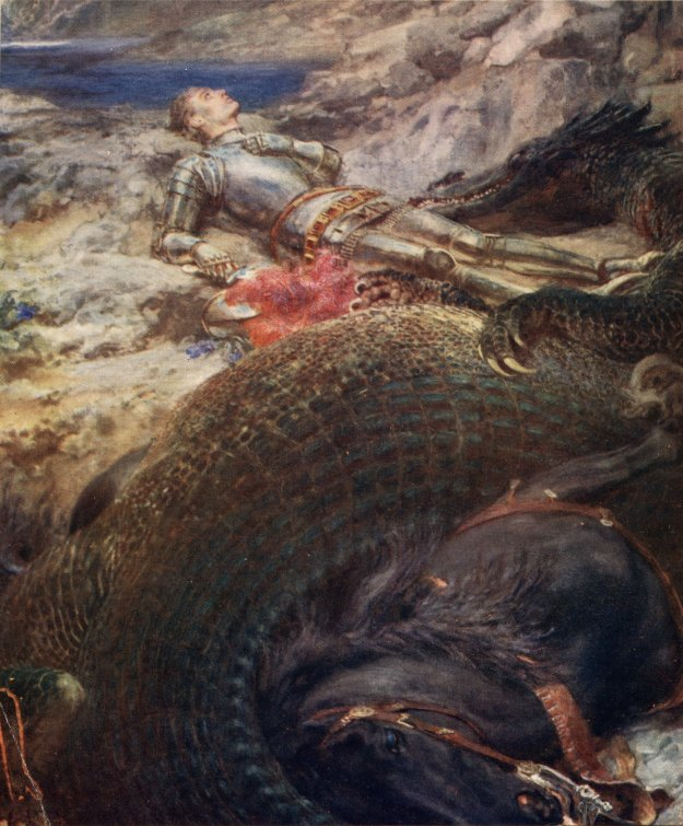 St._George_and_the_Dragon_-_Briton_Riviere