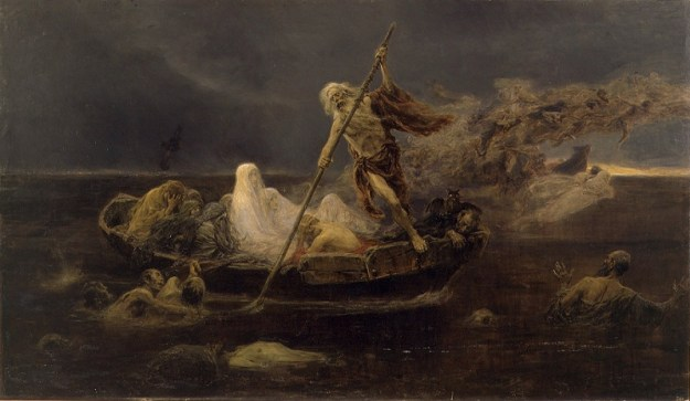 La Laguna Estigia The River Styx 1887 by Felix Resurreccion Hidalgo