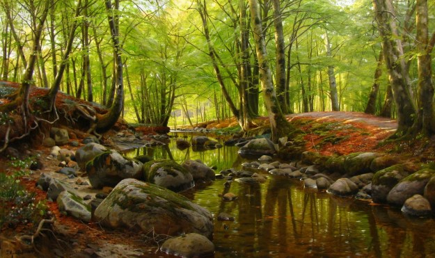 Peder_Mork_Monsted_Stream_with_rocks