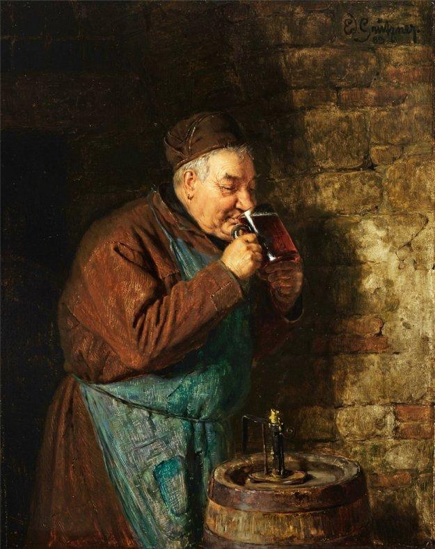 grutzner_monk_drinking