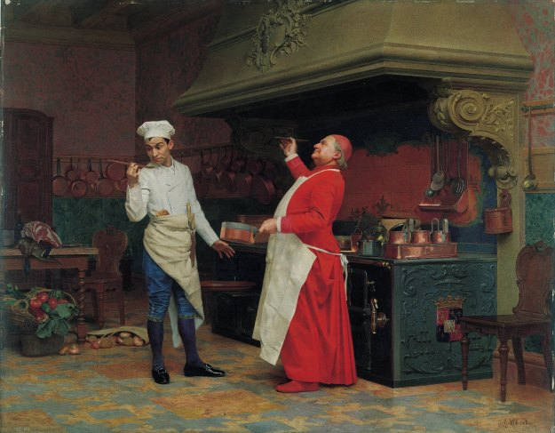 Jehan-Georges_Vibert_-_The-marvellous-sauce