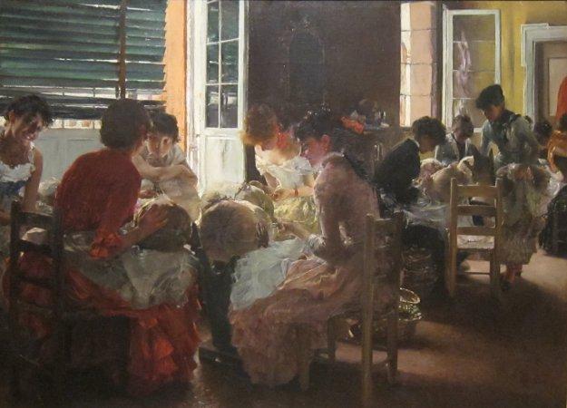 'Venetian_Lacemakers'_by_Robert_Frederick_Blum,_Cincinnati_Art_Museum