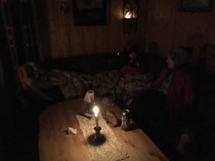 Koseprat i sofaen