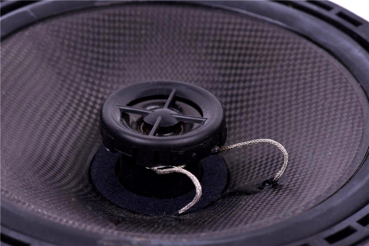 AIV High End Carbon Koax Lautsprecher DIN 165 für Deckeinbau Atmos Bad Decke