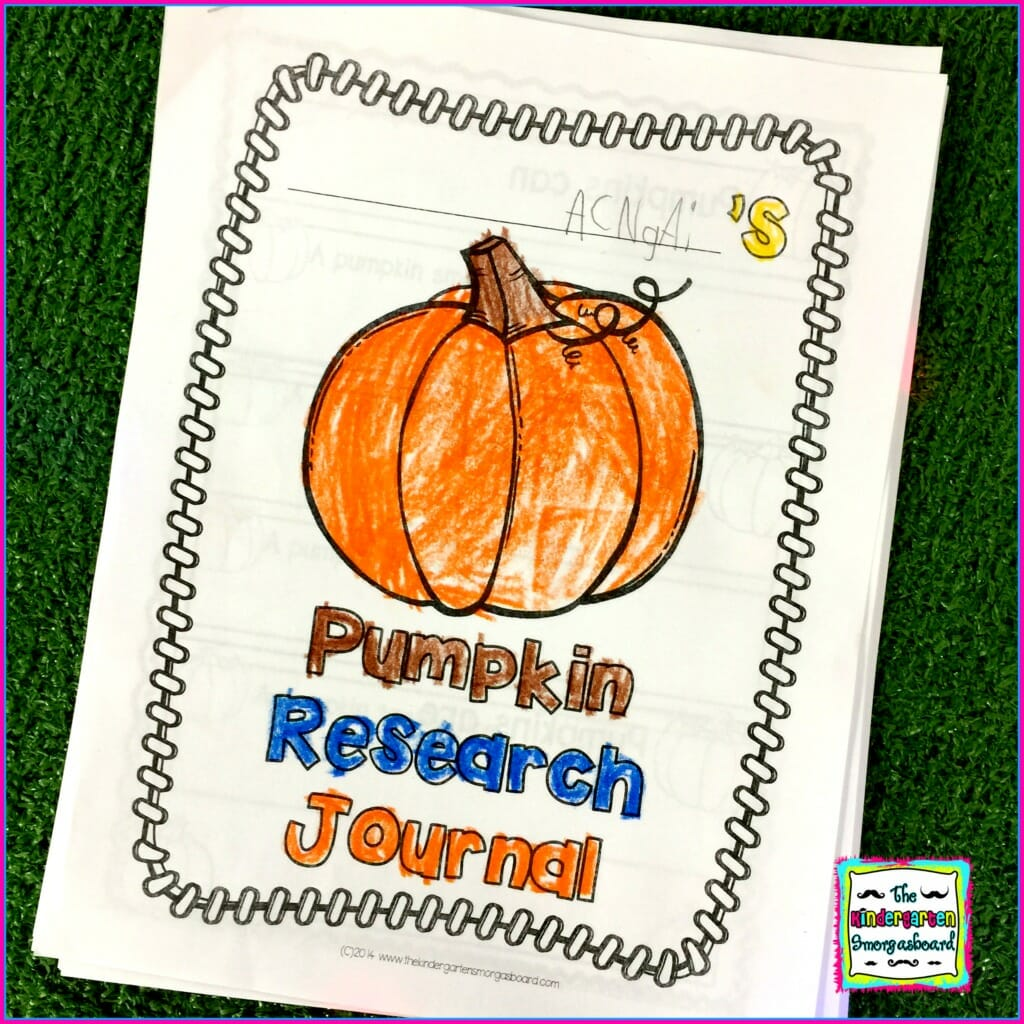 Pumpkin Research Project Word Families Addition