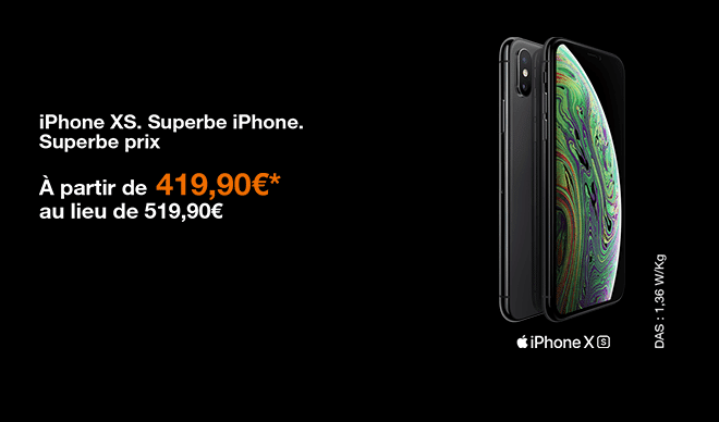 iphone xs promo orange mobile