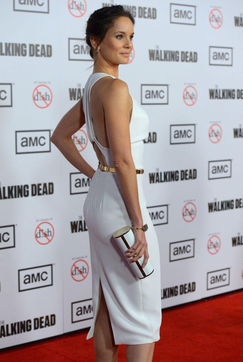 SARAH WAYNE CALLIES at The Walking Dead Season 3 Premiere