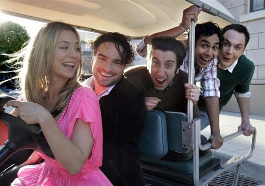 funny-Big-Bang-Theory-cast-car