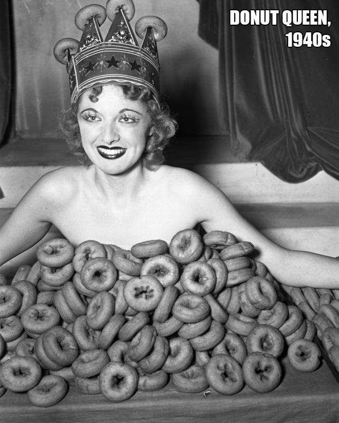 Miss Donut, 1940s