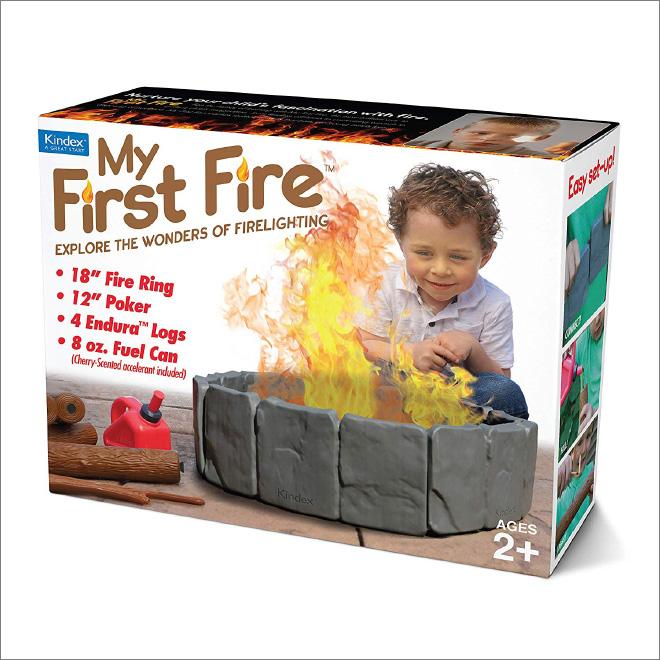 My First Fire.