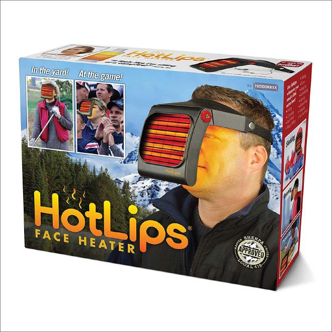 HotLips face heater.