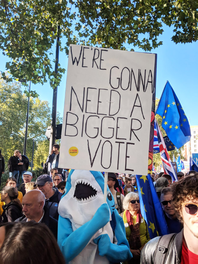 We are gonna need a bigger vote!