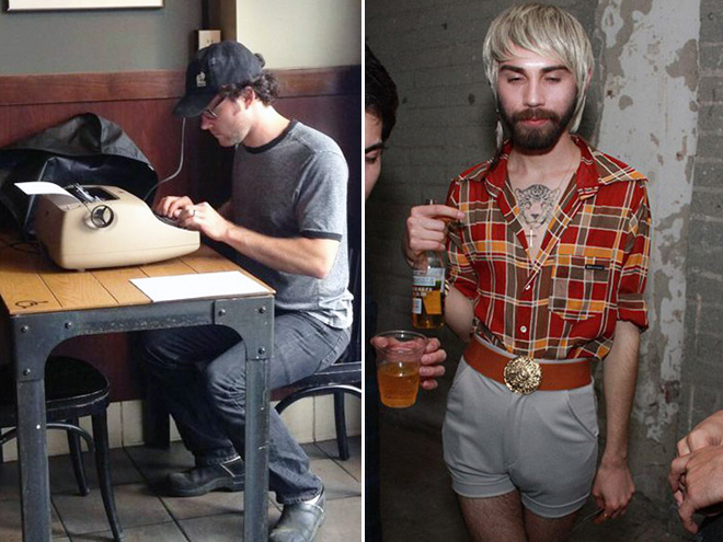 Hipster extremists.