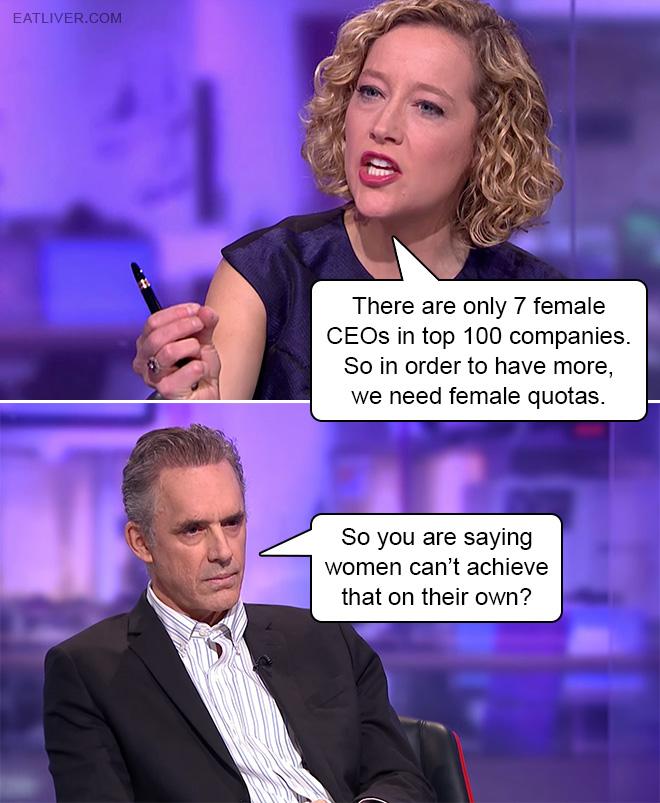 When feminist logic backfires...