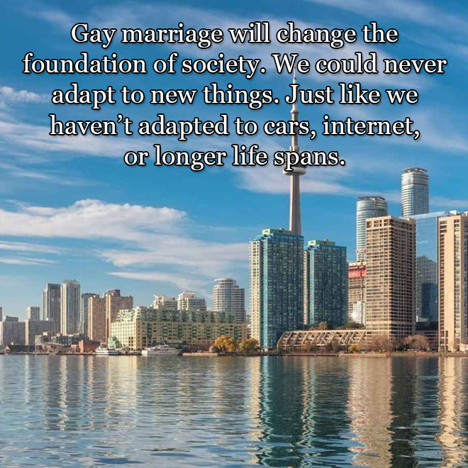 Why gay marriage is wrong.