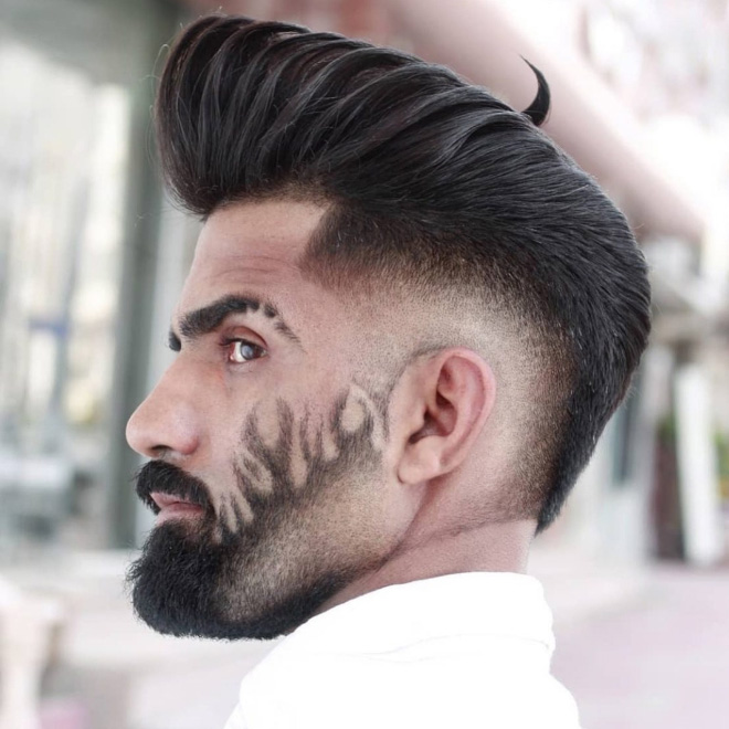 Here's a beard style you should try.