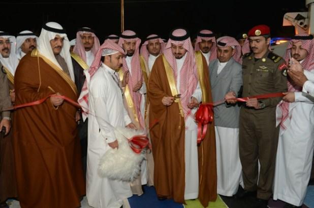 JBR 1443 - أمير منطقة عسير يدشن مشاريع تنموية بمحافظة محايل