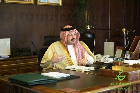 DSC 3988 - نائب أمير عسير يستقبل ذوي الشهداء