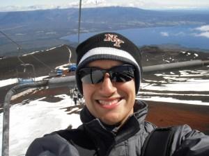 Carona para o pico do Osorno