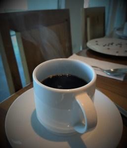 малък черно кафе