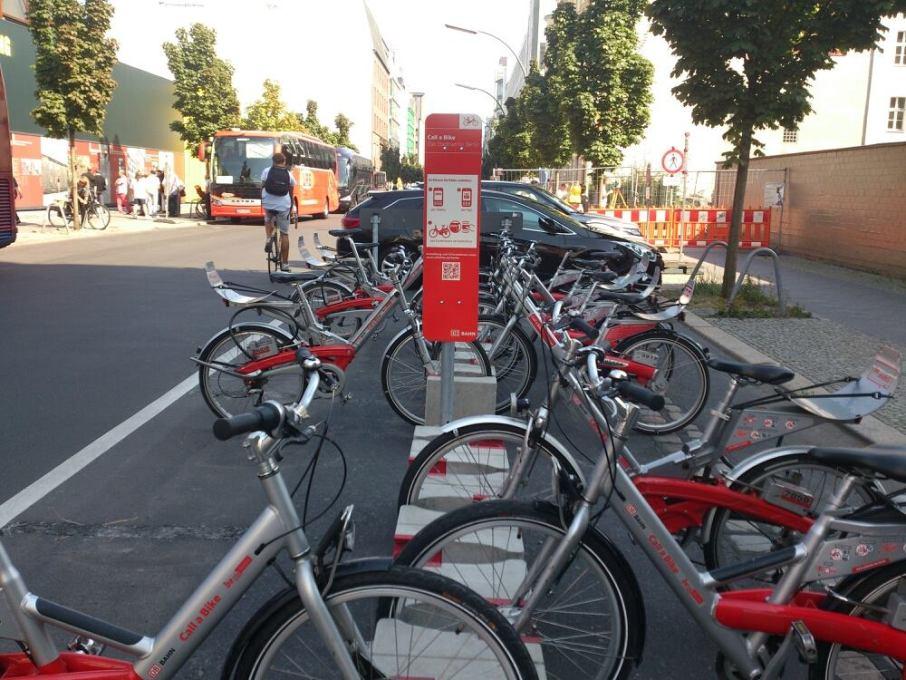 Aluguel de bicicletas