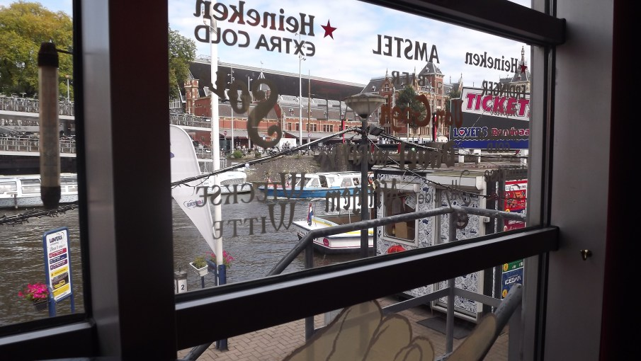 Vista da cafeteria