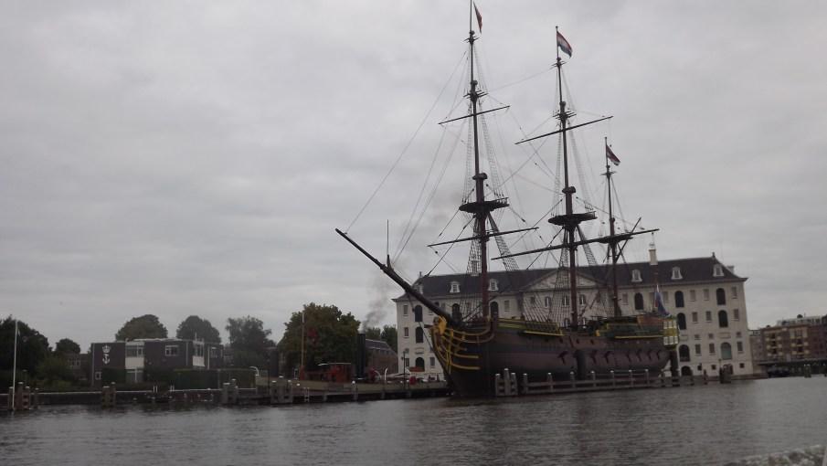 barco Holandês usado antigamente