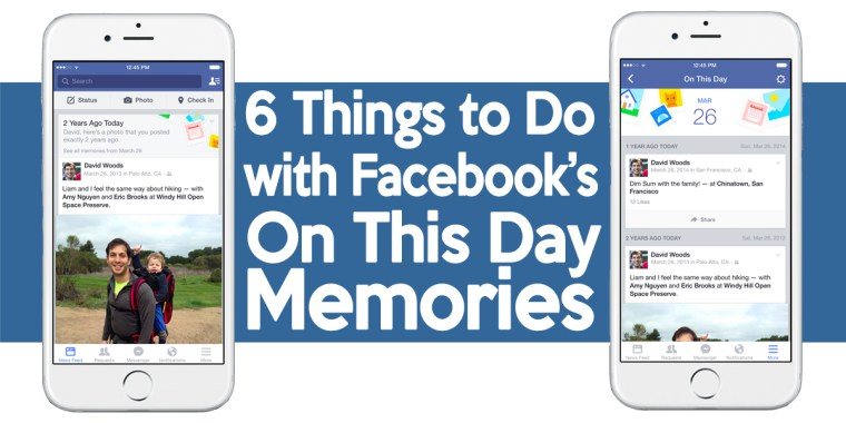 Facebook's On This Day Memories Notifications - 1BabaSalam.com