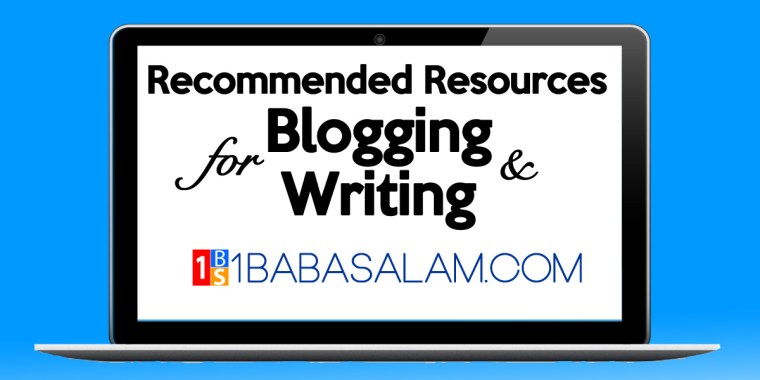 Recommended Blogging Resources - 1BabaSalam.com