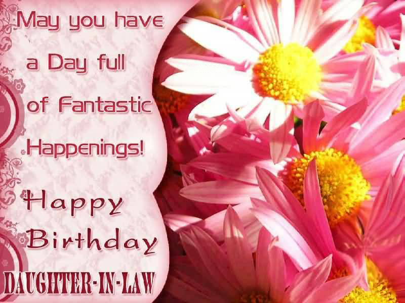 Happy Birthday Greetings For Daughter In Law 1birthday Greetings