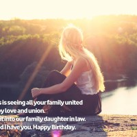 Happy Birthday Greetings for Daughter in Law